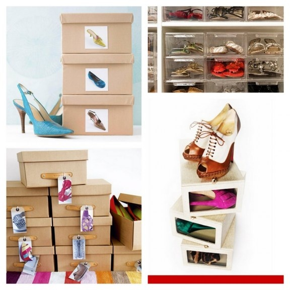 17 best images about organizing tips on pinterest - Ideas for organizing shoes ...