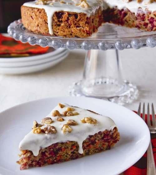Carrot Cranberry Cake | Cakes | Pinterest