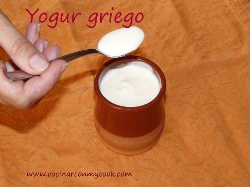 Yogur griego para #Mycook http://www.mycook.es/receta/yogur-griego/