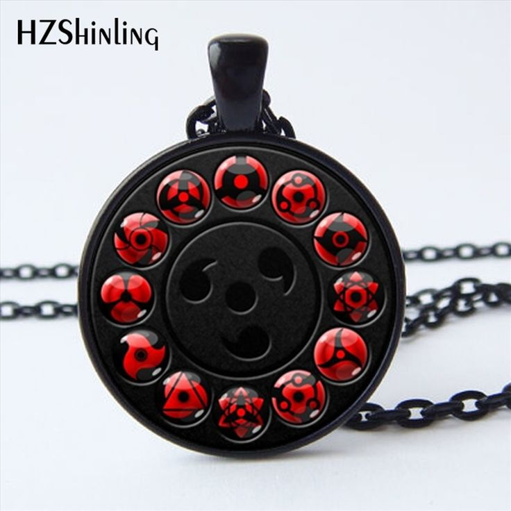 Naruto Shippuden Sharingan Eye Chain Necklaces (17 styles) //Price: $8.99 & FREE Shipping //     #sao #animelovers #loveanime #tokyoghoul #otakus #animefans #goku #narutoshipppuden #dragonballz #dragonballsuper #uchiha #pokemon