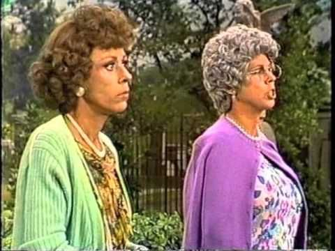 """Not at all a Carol Burnett fan, but this was funny as hell---EUNICE - Carol Burnett - a rarely seen 1979 """"Family"""" sketch"""