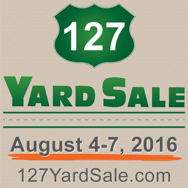 This year's 127 Yard Sale has come to an end so time to mark your calendars for next year's 127 Yard Sale, August 4-7, 2016. Check out the website, www.127YardSale.com, for all the info you could ever need about The World's Longest Yard Sale.