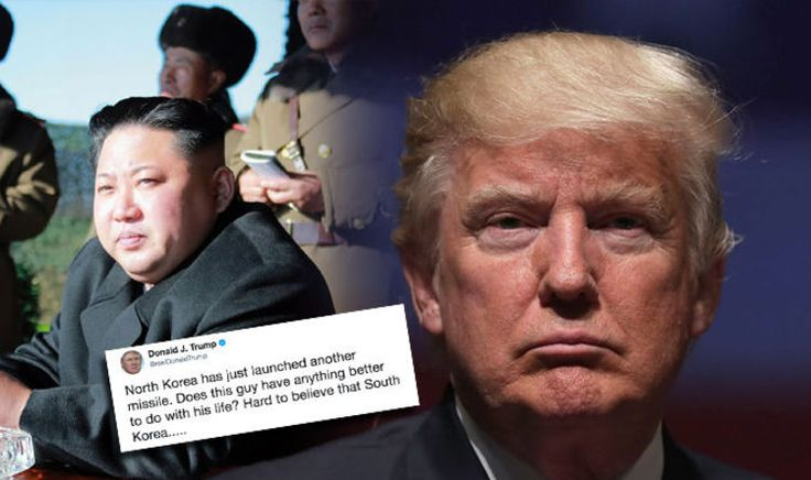 Donald Trump responds to North Korean 'Independence Day' missile launch