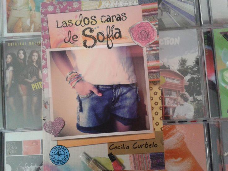 """""""Las dos caras de Sofia"""" escrito por Cecilia Curbelo:"""