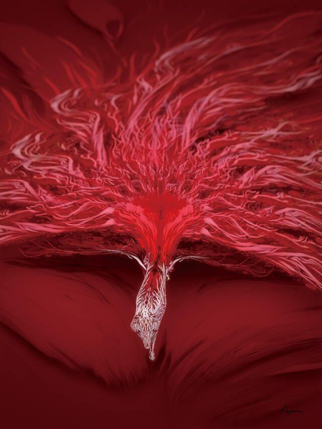 Vol.55:『紅妖狐』|画龍点睛 by Kaihei Hayano #CGWjp #in