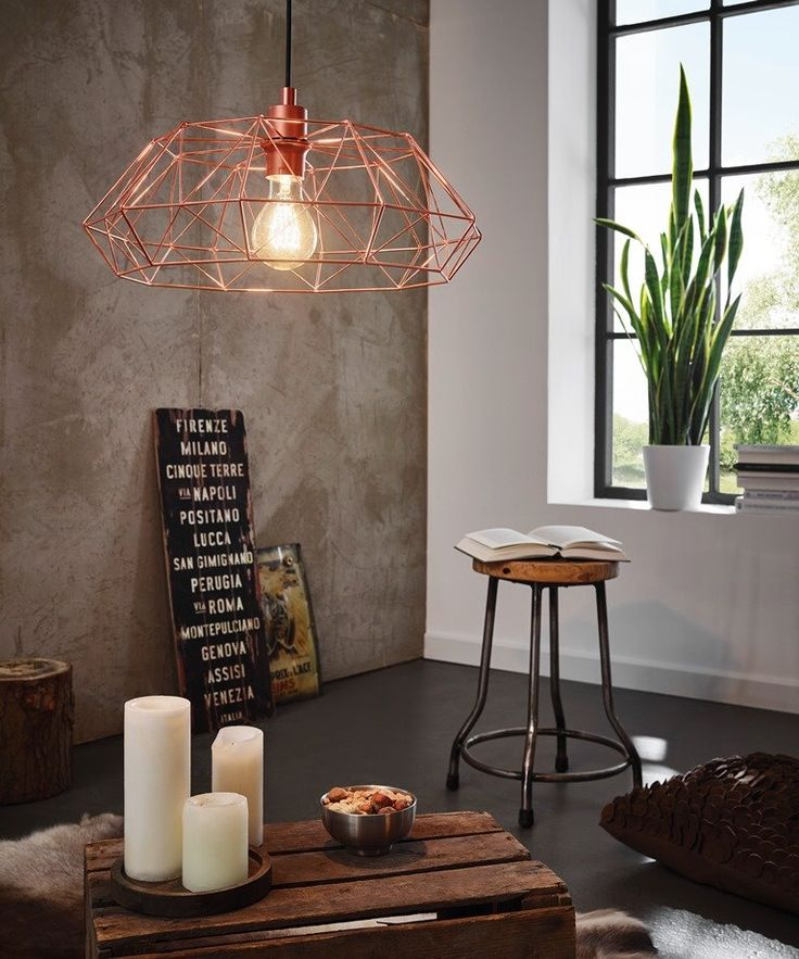 Eglo Vintage Lampa wisząca Carlton 2 - 49488 Sklep internetowy Elektromag #vintagelighting