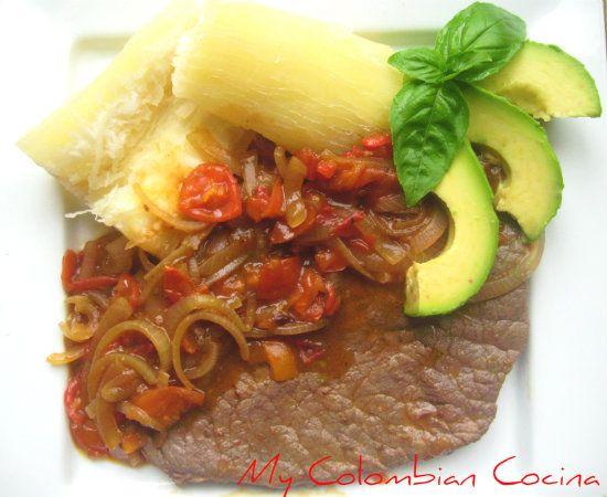My Colombian Cocina - Carne en Salsa Criolla