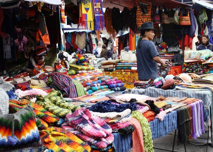 Been Here...love...Market in Otavalo, Ecuador.