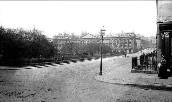 Queen Square, Bath late 19th century