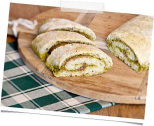 Pesto brood