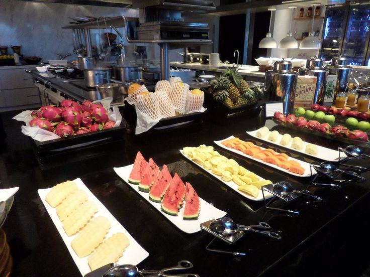 Best way to start your day....at the St Regis Bangkok buffet breakfast