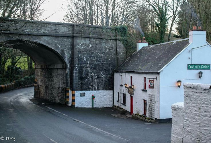 This is 'Jack Meade's' or 'Meade's Under The Bridge' as it's known locally. It's 4 miles from Waterford city and has been a pub since 1705 & has been run by the same family since the mid 1800s. It is without doubt one of the finest examples of an old Irish pub still operating. No gimmicks no fakery, just a beautiful little pub with a turf fire, great Guinness and a friendly clientele. Jack Meades Bar and Restaurant