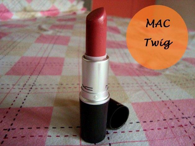 Mac Twig Lipstick Swatch, Review, FOTD
