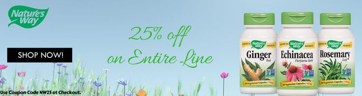 25% off on naturesway products