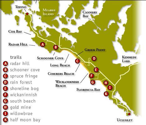 Tofino to Ucluelet  Pacific Rim