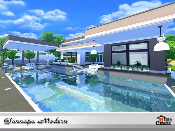 Casa Gannapa Moderna e Luxuosa - The Sims 4 | Pirralho do Game
