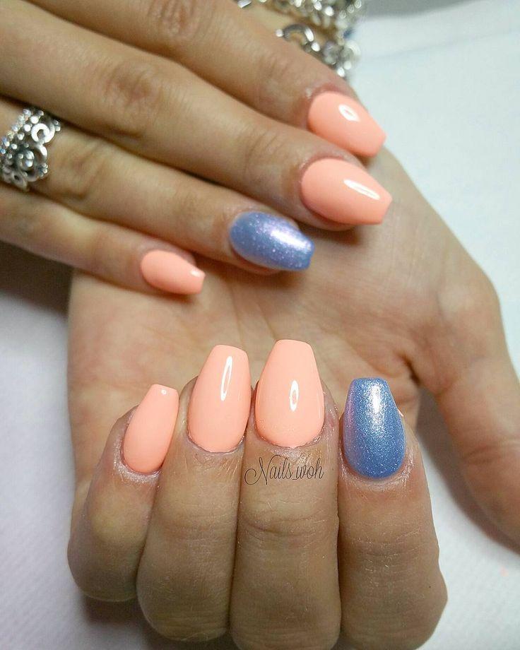 Copertura unghie naturali in gel color pesca �� #Nails_woh  #gliter #shiny #sparkles #fashion #glamour #unhas #opi #preto #branco #instanails #passione #instanail #nails #nail #nailart #nailgel #nailsart #nailartist #Girl #instaswag #top #unghie #polish #instapolish #stylish #glitternails #ricostruzioneunghie #italiangirl http://butimag.com/ipost/1491554770278817692/?code=BSzESk1gh-c