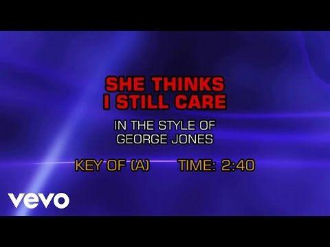 George Jones - He Stopped Loving Her Today (Karaoke) - YouTube