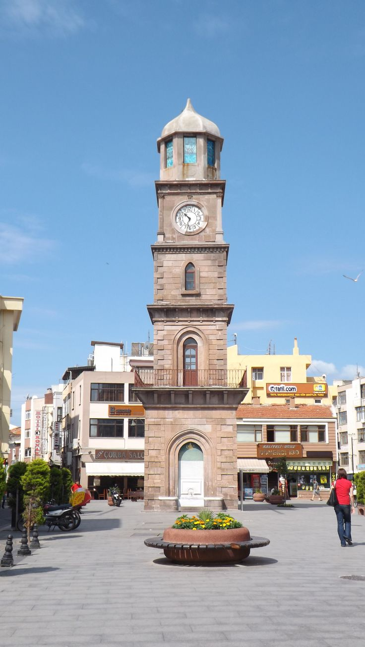 Clock Tower, Canakkale, Turkey June 2013