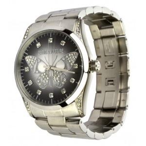 Reloj Zadig & Voltaire acero mariposa strass esfera gris. www.sanci.es