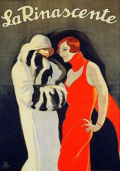 """Anno: 1925 Soggetto: """"La Rinascente"""" - Stampa Star-IGAP, Milano Provenienza: 1) Raccolta Salce, Museo Bailo, Treviso -2) Civica Raccolta Bertarelli, Milano."""
