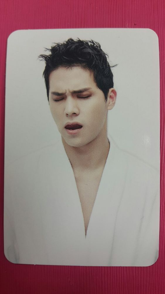 TEENTOP CAP C.A.P Official Photocard #2 RED POINT 7th Album Photo Card 캡