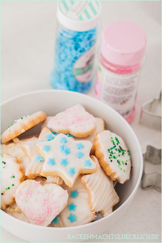 Backen macht glücklich   Einfaches Weihnachtsplätzchen-Rezept zum Ausstechen   http://www.backenmachtgluecklich.de