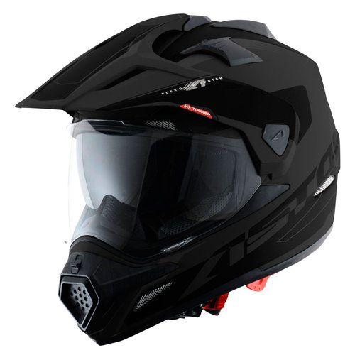Casco para moto ASTONE CROSS TOURER MATE NEGRO