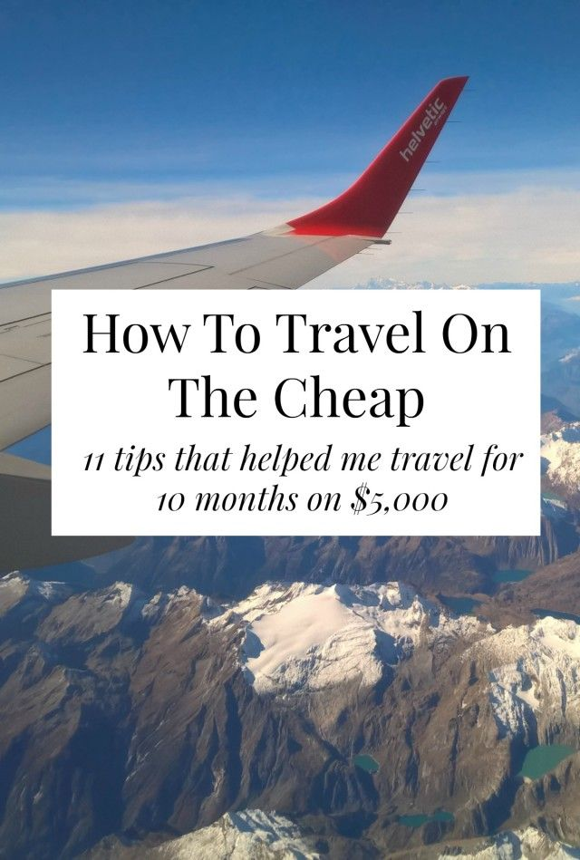 Travel for cheap with these cheap travel tips  Want to have your travel paid for and know someone looking to hire top tech talent? Email me at carlos@recruitingforgood.com