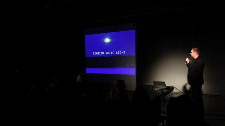 Finnish White Light, Tapio Anttila. Design Meetups, Budapest Design Week 2011.  Video: MOMEline