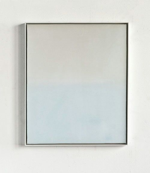 More Oil, Wax on Canvas and Wood 2012 17 x 14... - DEREK ROOT