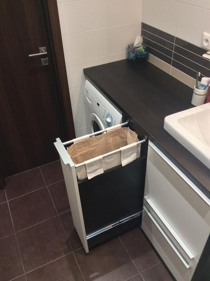 Vstavaný kôš na prádlo