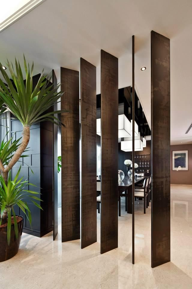 Living Room Feature Wall Designs: 8 Stylish Feature Wall And Partition Designs For Open