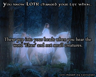 Usually Legolas and Thranduil and Elrond come to mind at first, then the rest of the elves!