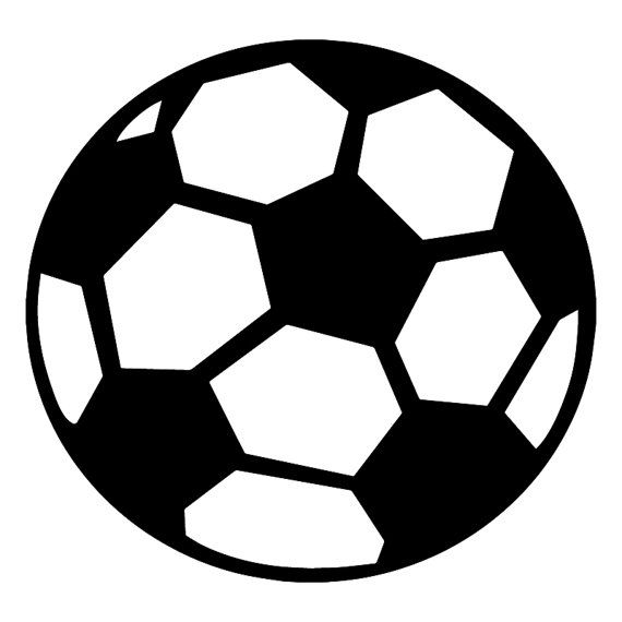 Soccer Ball Wall Decal  Soccer Ball Decal  Vinyl by HotTopicDecals