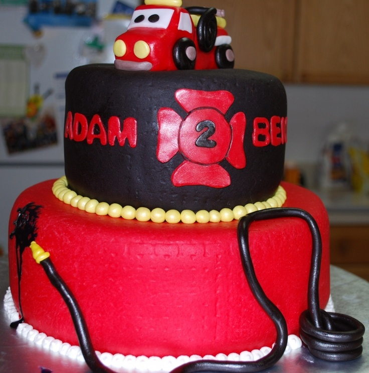 "67 Best Images About ""Fire Truck"" Themed Party On Pinterest"