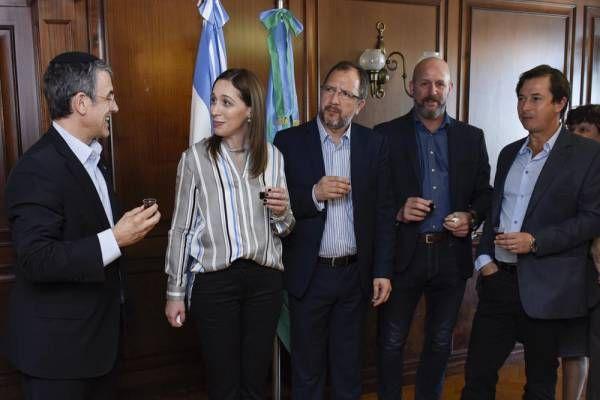 Vidal brindó por el año nuevo judío junto a dirigentes de la AMIA, la DAIA y otras entidades israelitas