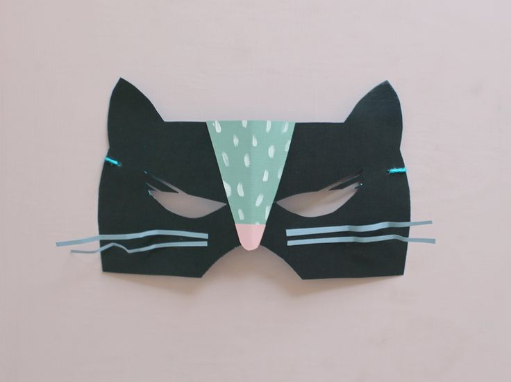 Mer Mag |   DIY Paper Cat and Mouse Masks