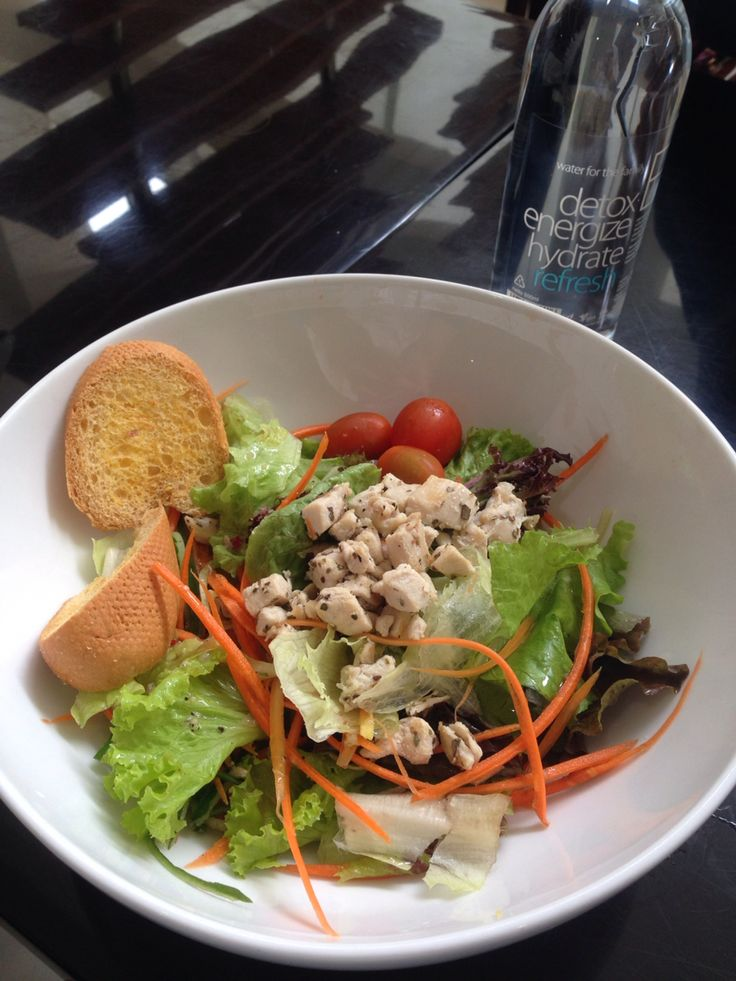 My healthy chicken grill salad..