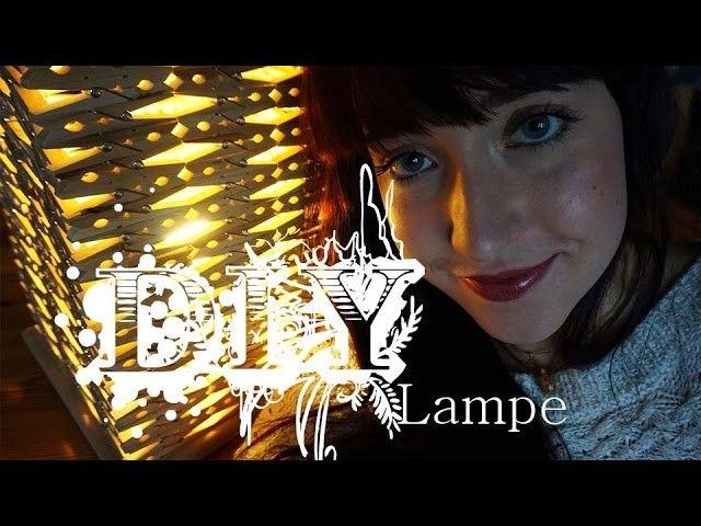 DIY | Einfache Lampe aus Wäscheklammern