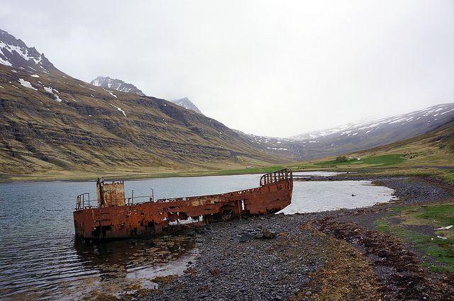 Abandoned Ship - Iceland