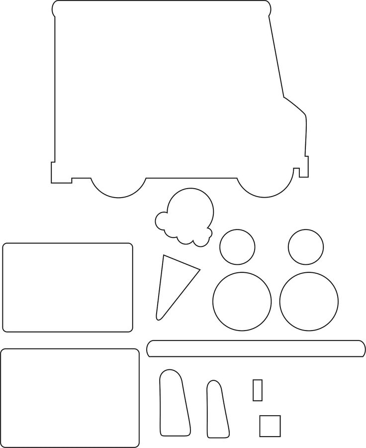 truck template printable yelom myphonecompany co
