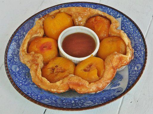 American Classics: Old Fashioned Peach Cobbler A.K.A. Peach Puzzle