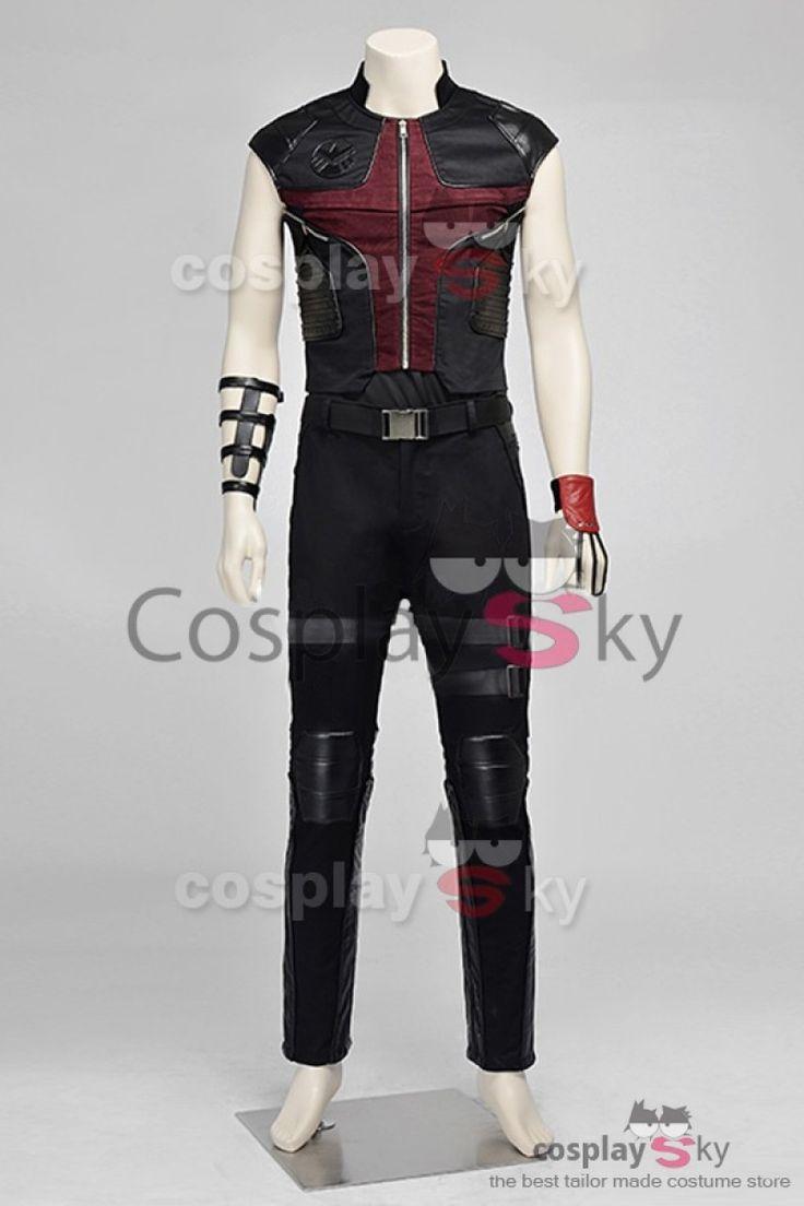 Avengers : L'Ère d'Ultron Œil-de-Faucon Cosplay Costume -1