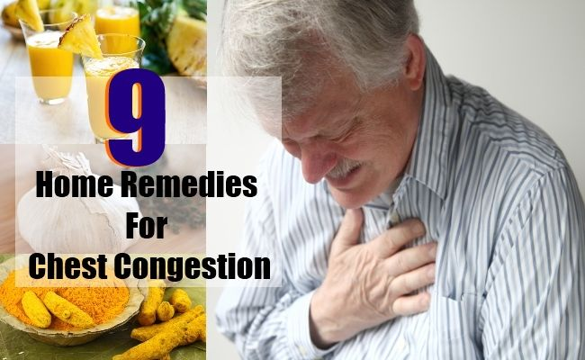 how to clear cold congestion