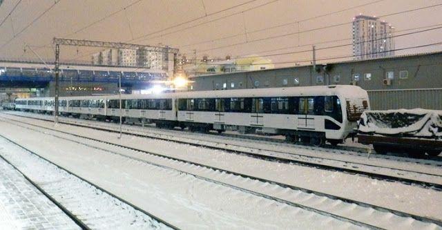Транспортный блог Saroavto: Очередной новый поезд метро для Будапешта