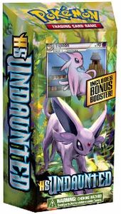 Pokemon HS Undaunted Daybreak theme deck