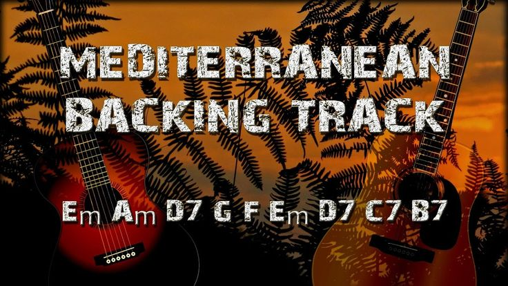 Mediterranean Sundance Rio Ancho Backing Track for improvisation