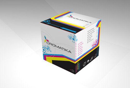 Packaging promocional para imprenta Cromatica - Buenos Aires.