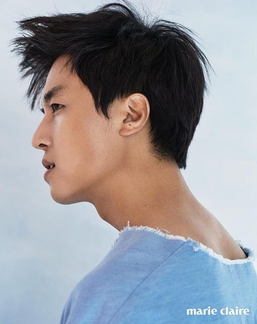 We've always thought of Yeon Woo Jin as sort of an enigma and he's not proving us wrong. His pictorial in the upcoming issue of Marie Clarie shows he's a little bit crazy AND duri…